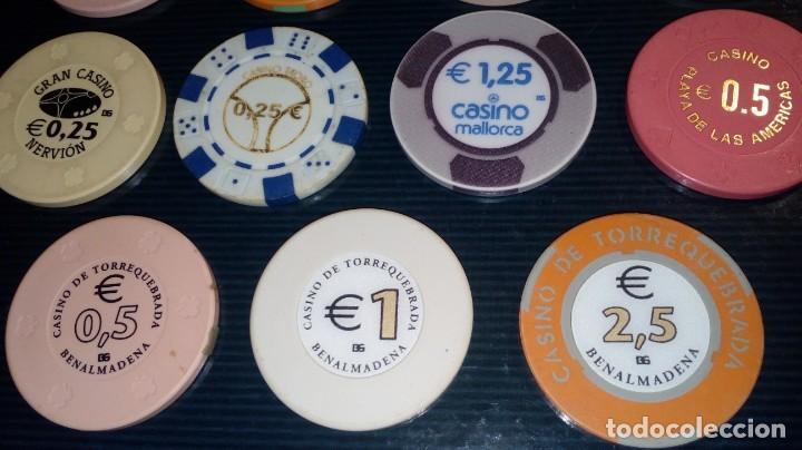 Monedas locales: LOTE DE 15 FICHAS DE CASINOS DE ESPAÑA - Foto 5 - 211673349