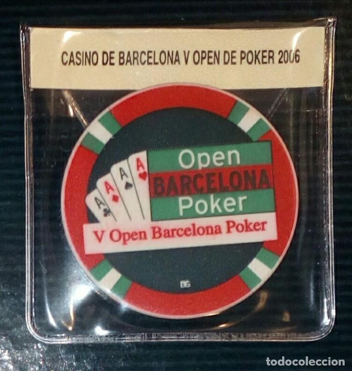Monedas locales: LOTE DE 4 FICHAS DE CASINOS - BARCELONA - Foto 2 - 211675363
