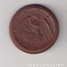 Monedas locales: FICHA, JETON, TOKEN DE 20 MARCOS DE 1921 DE CERÁMICA MEISSEN DE SAJONIA (ALEMANIA) (C47). Lote 212622616