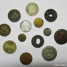 Monedas locales: CONJUNTO DE 13 FICHAS DINERARIAS DE COOPERATIVAS CASINOS, PUBLICITARIAS, FIESTAS RAVE, ETC LOTE 3312. Lote 213130072