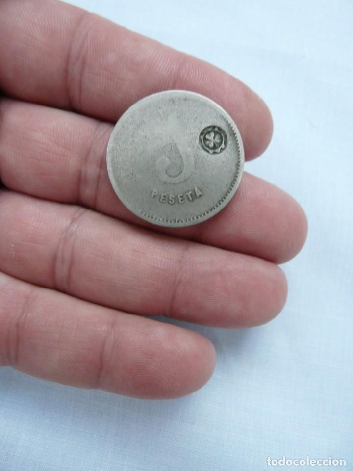 Monedas locales: 1 PESETA COOPERATIVA LA DICNIDAD - Foto 2 - 214352647