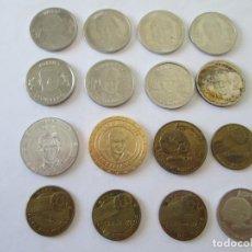 Monedas locales: LOTE DE 16 FICHAS-MEDALLAS DE FUTBOL. Lote 214503258