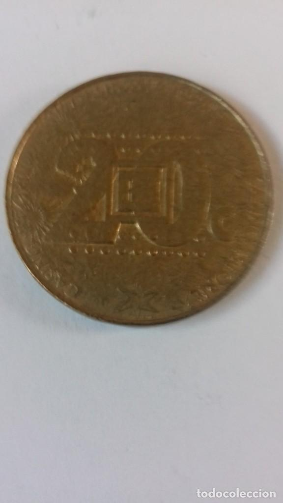 Monedas locales: Ficha de metal del casino de Estoril - Foto 2 - 216902261