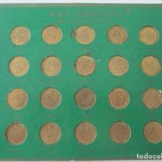 Monedas locales: COLECCION DE 20 FICHAS DEL BICENTENARIO * PUBLICIDAD DE TOTAL * FRANCIA. Lote 218330410