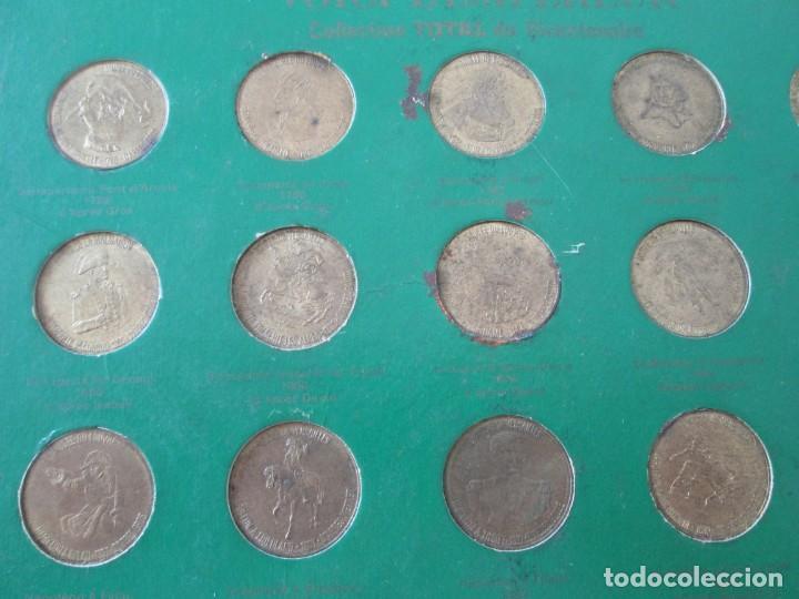Monedas locales: COLECCION DE 20 FICHAS DEL BICENTENARIO * PUBLICIDAD DE TOTAL * FRANCIA - Foto 2 - 218330410