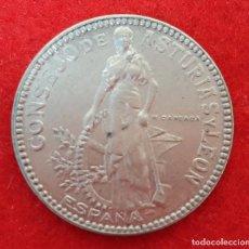 Monedas locales: MONEDA LOCAL GUERRA CIVIL 2 PESETAS CONSEJO ASTURIAS Y LEON 1937 MBC++ ORIGINAL B41. Lote 219501786