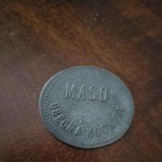 Monnaies locales: ANTIGUA FICHA PARA COMIDA DE CENTROEUROPA. AÑOS 40.. Lote 219619577