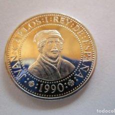 Monedas locales: V CENTENARIO . 500 PESETAS DE PLATA DEL AÑO 1990 . SIN CIRCULAR. Lote 220615252