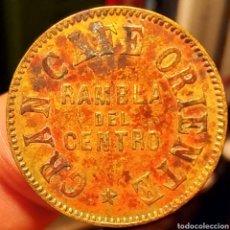 Monedas locales: AL1001 - FICHA DEL GRAN CAFÉ ORIENTE - BARCELONA - 10 CTS. Lote 221517930