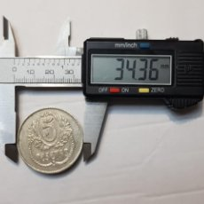 Monedas locales: FICHA MONEDA CASINO 5 PESETAS AÑOS 30 REPUBLICA. Lote 233857715
