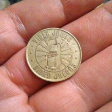 Monedas locales: MONEDA TOKEN DE JUEGO , VIDEO JUEGOS, VIDEO GAMES. Lote 223835188