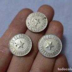Monedas locales: * LOTE 3 ANTIGUA MONEDA O FICHA DEL SALON DE AUDICIONES DE BARCELONA, RAMBLA DE LES FLORS. ZX. Lote 223846075