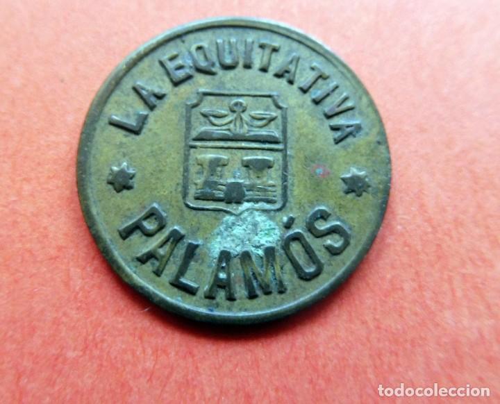MONEDA - LA EQUITATIVA - PALAMÓS - 5 CENTIMOS - (Numismática - España Modernas y Contemporáneas - Locales y Fichas Dinerarias y Comerciales)