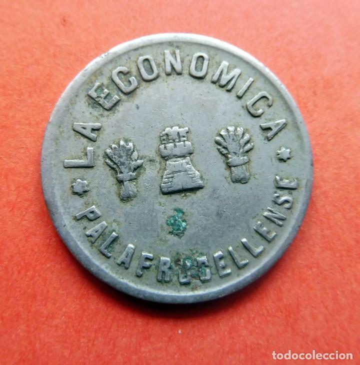 MONEDA - LA LA ECONOMICA - PALAFRULLENSE - 1 PESETA (Numismática - España Modernas y Contemporáneas - Locales y Fichas Dinerarias y Comerciales)