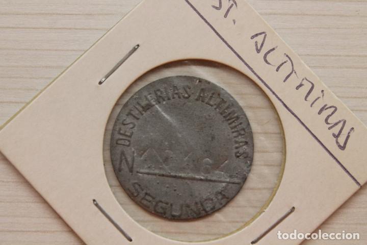 FICHA DESTILERÍAS ALTIMIRAS (Numismática - España Modernas y Contemporáneas - Locales y Fichas Dinerarias y Comerciales)