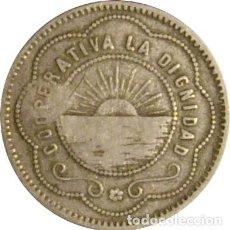 Monedas locales: ESPAÑA. COOPERATIVA LA DIGNIDAD. 1 PESETA. Lote 229113415