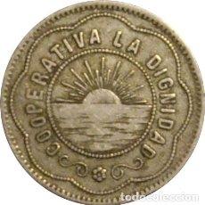Monedas locales: ESPAÑA. COOPERATIVA LA DIGNIDAD. 5 PESETAS. Lote 229113570