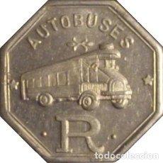 Monedas locales: ESPAÑA. AUTOBUSES ROCA. BARCELONA. 15 CÉNTIMOS. Lote 229119945