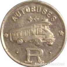 Monedas locales: ESPAÑA. AUTOBUSES ROCA. BARCELONA. 10 CÉNTIMOS. Lote 229565630