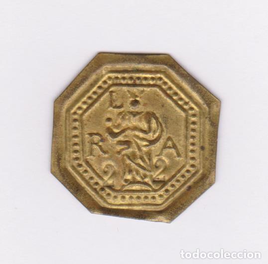 MONEDA CATALANA LOCAL - PELLOFA - LA SEU-MANRESA - CR-1791 (EBC) (Numismática - España Modernas y Contemporáneas - Locales y Fichas Dinerarias y Comerciales)