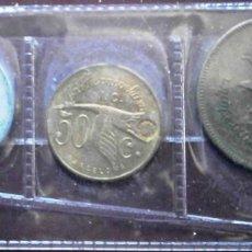 Monedas locales: BARCELONA LA HISPANO SUIZA 3 FICHAS 1 PESETA 50 CÉNTIMOS 25 CÉNTIMOS VER FOTOS. Lote 231771145