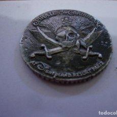 Monedas locales: MONEDA FICHA PIRATAS DEL CARIBE DISNEYLAND PARIS. Lote 232921560