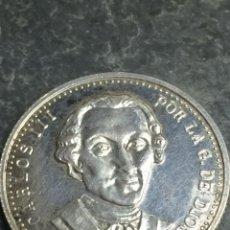 Monedas locales: MONEDA DE PLATA COLECCIÓN DINASTÍAS ESPAÑOLAS CARLOS III SC. Lote 235534635