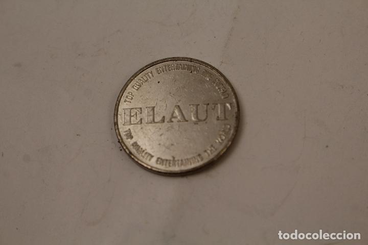 Monedas locales: Moneda Jetón – Token – ELAUT - Top quality Entertaining the world - Diámetro: 26 mm - Foto 2 - 268867074