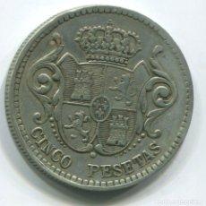 Monedas locales: ESPAÑA. FICHA DE CASINO DE 5 PESETAS. Lote 235807820