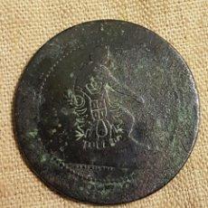 Monedas locales: MONEDA 10 CTMOS 1870 CONTRAMARCA TOLEDO. Lote 236801110
