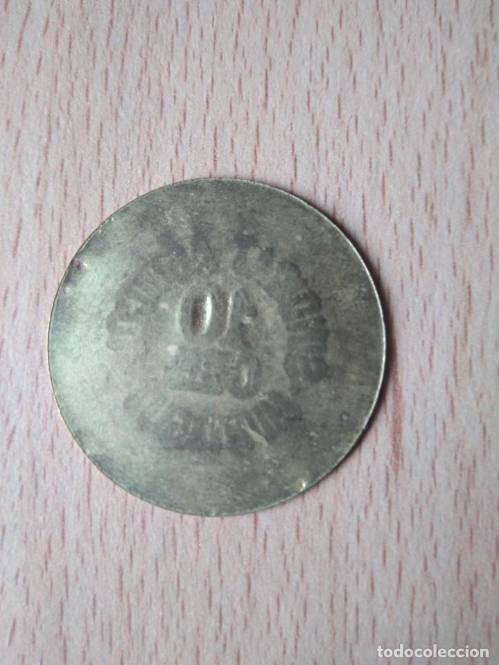 Monedas locales: MONEDA 10 CÉNTIMOS SINDICAT AGRÍCOLA MONTAGUT DE FLUVIÀ GARROTXA GIRONA MUNTAGUT CHAPA GUERRA CIVI - Foto 6 - 237624835