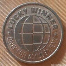 Monedas locales: MONEDA TOKEN LUCKY WINNER. Lote 239542040