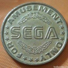 Monedas locales: MONEDA TOKEN SEGA ORIGINAL ARCADE. Lote 254680240