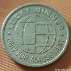 Monedas locales: MONEDA TOKEN LUCKY WINNER. Lote 239592700
