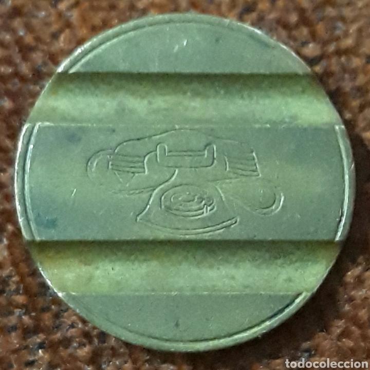 Monedas locales: Moneda token telefónico n° 7606 - Foto 2 - 239646165