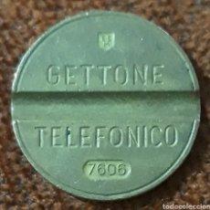 Monedas locales: MONEDA TOKEN TELEFÓNICO N° 7606. Lote 239646165