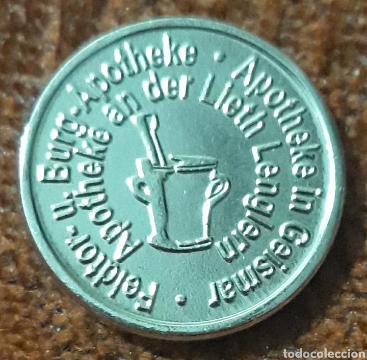 Monedas locales: Moneda token Dr.Anschuiz taler bovenden geismar - Foto 2 - 239679015