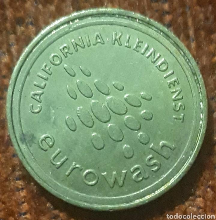 MONEDA TOKEN EUROWASH CALIFORNIA (Numismática - España Modernas y Contemporáneas - Locales y Fichas Dinerarias y Comerciales)