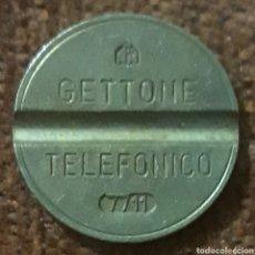 Monedas locales: MONEDA TOKEN TELEFÓNICO N° 7711. Lote 240036540