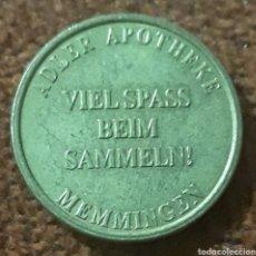 Monedas locales: MONEDA TOKEN VIEL SPASS 1 ADLER MEMMINGEN. Lote 240049140