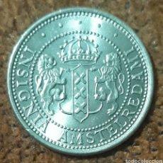 Monedas locales: MONEDA TOKEN CONMEMORATIVA INSIGNIA AMSTELREDAMI 700 FLORIJN 1975. Lote 240677140