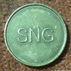 Monedas locales: MONEDA TOKEN INICIALES SNG. Lote 240697140