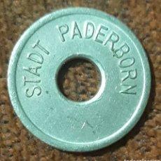 Monedas locales: MONEDA TOKEN STADT PADERBORN ERWACHSENE. Lote 240707905