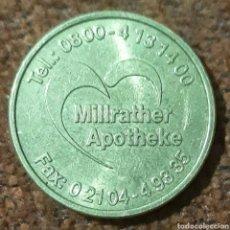 Monedas locales: MONEDA TOKEN MILLRATHER BONUS TALER BERGSTR. Lote 240708840