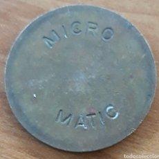 Monedas locales: MONEDA TOKEN MICRO MATIC. Lote 242157020