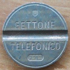 Monedas locales: MONEDA TOKEN TELEFÓNICO N°7912. Lote 242190100
