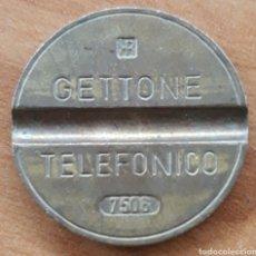 Monedas locales: MONEDA TOKEN TELEFÓNICO N°7506. Lote 242190540