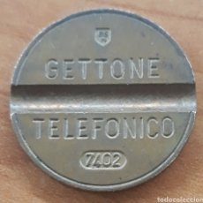 Monedas locales: MONEDA TOKEN TELÉFONO N°7402. Lote 242253355