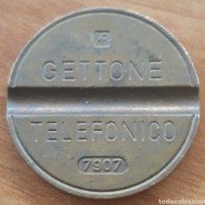 Monedas locales: MONEDA TOKEN TELÉFONO N°7907. Lote 242254450