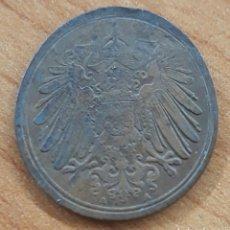 Monedas locales: MONEDA OLONGADA ERROR DE CUÑO ALEMANIA 1 PFENNIG 1914. Lote 242355230
